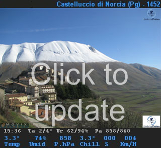Webcam Castelluccio