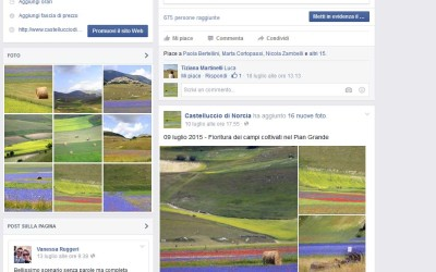 Castelluccio Facebook