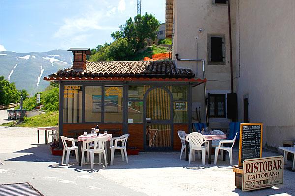ristoranti castelluccio altopiano