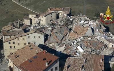 Earthquake Castelluccio Aid
