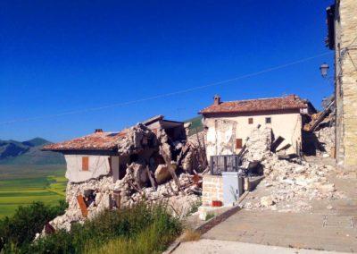 Castelluccio terremoto Norcia