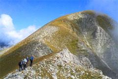 Sibillini trekking Castelluccio