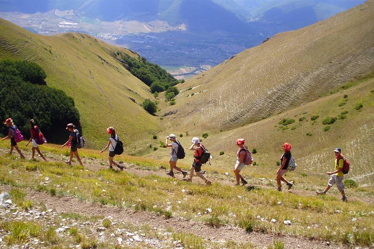 Sibillini trekking Castelluccio Trekking a Castelluccio nei Sibillini