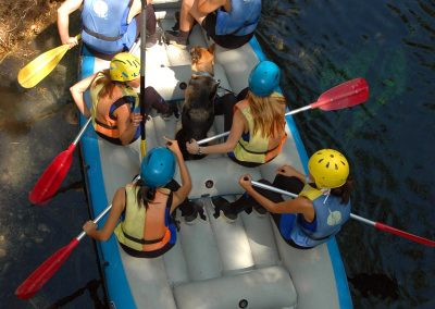Rafting in Umbria nei Sibillini