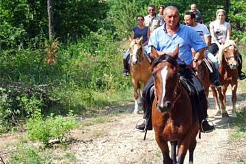 Escursioni cavallo Sibillini