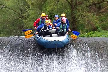 Rafting Umbria